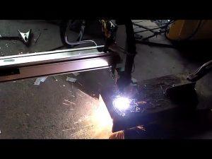 1530 ódýr sjálfvirk flytjanlegur cnc plasma klippa vél