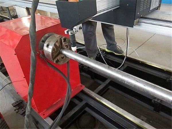 2017 Nieuwe Draagbare type Plasma Metalen Pijpsnijder machine, CNC metalen buis snijmachine