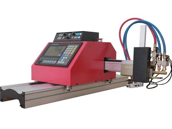 2017 için sıcak satış taşınabilir portal cnc alev plazma kesme makinası çelik için THC ile