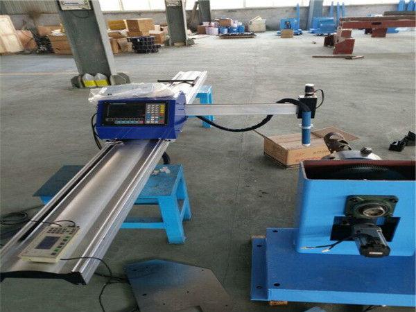 Cortadora de tubo de acero portátil del plasma del CNC de la venta caliente de 2018
