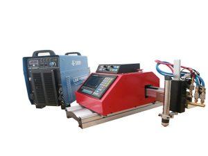 máquina de corte de plasma cnc portátil automático de acero inoxidable de aluminio