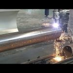 CNC 3 axis plasma flame pipe rotary tube steel cutting machine