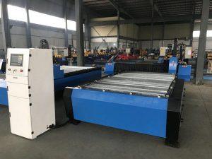 China 1325 1530 goedkope fakkel hoogte controller plasma huayuan metalen staal snijden cnc plasma snijmachine