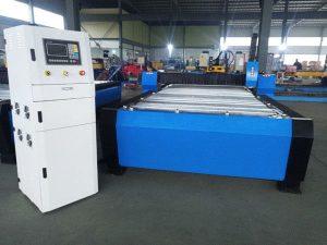 Ķīnas CNC plazmas griešanas mašīna ar hiper 125a biezām metāla loksnēm 65a 85a 200a pēc izvēles