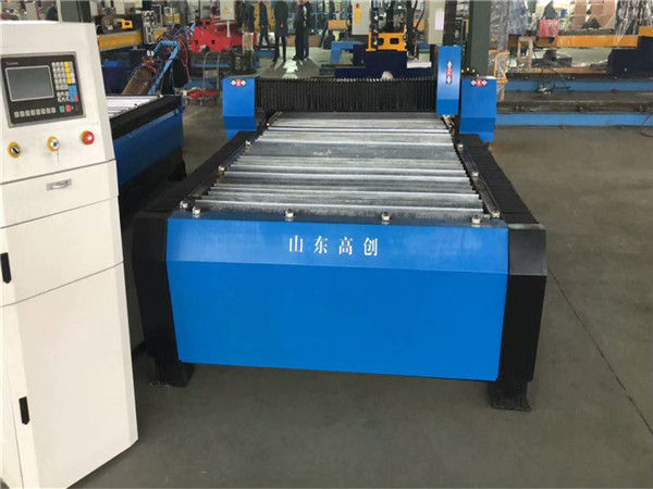 चीन Huayuan 100A प्लाज्मा काटना सीएनसी मशीन 10mm प्लेट धातु