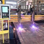 doble nga drive gantry cnc plasma cutting machine h beam production line hypertherm cnc system