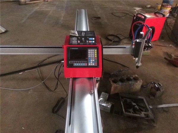 Augstas kvalitātes portatīva cnc plazmas griešanas mašīna cnc plazmas griezējs nerūsējošā tērauda un metāla loksnēm