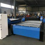 grote 2000 * 6000mm cnc plasmasnijdende boormachine voor metalen platen