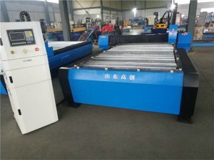 stainless steel cut cnc plasma metal cutting machine