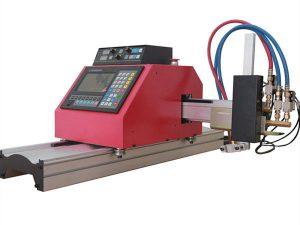 Multifunctionele vierkante stalen buis profiel CNC FlamePlasma snijmachine met hoge kwaliteit