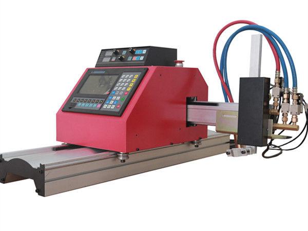 Daudzfunkcionāla kvadrātveida tērauda cauruļu profila CNC FlamePlasma griešanas mašīna ar augstu kvalitāti