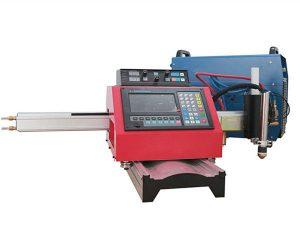 Makinë prerëse e plazmës CNC portative dhe makina automatike e prerjes së gazit me pista çeliku