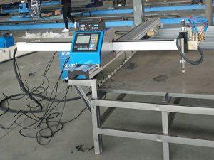 malý řezací stroj přenosného cnc plazmového / plynového řezacího stroje