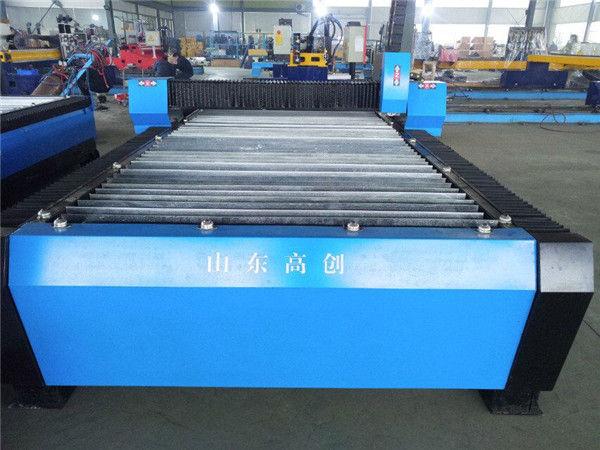 Pequeña máquina práctica de metal de corte por plasma cnc de escritorio