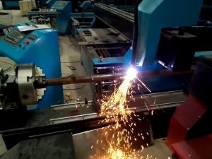 air automatic cnc plasma tube cutter cutting machine for metal sheet