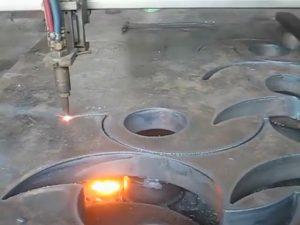 CE goedgekeur Flame sny fakkel draagbare cnc plasma snyer masjien in China fabriek