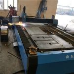 lēta CNC lokšņu metāla tērauda dzelzs plāksnes plazmas griešanas mašīnas cena