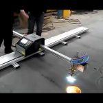 Čína výrobce přenosné cnc plazmové řezací stroj