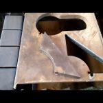 çin ucuz cnc plazma masa taşınabilir kesme makinası
