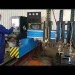 zware brug cnc plasma snijmachine metaalproductie geautomatiseerd
