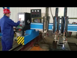 heavy duty gantry cnc plasma cutting machine metal fabrication automated