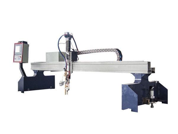 Düz ve boru metal için cnc plazma ve alev kesme makinası