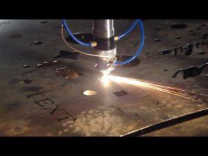 ทำในประเทศจีนประกันการค้าราคาถูกเครื่องตัดแบบพกพา cnc เครื่องตัดพลาสม่าสำหรับเหล็กสเตนเลสเหล็ก