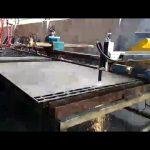 metāla tērauda griešanas mašīna mini pārnēsājama liesma, plazmas griešanas mašīnas cena