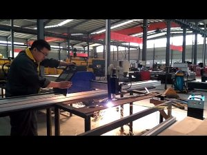 portable cantilever CNC plasma cutting machine