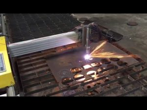 portable cnc flameplasma cutting machine with hypertherm 45