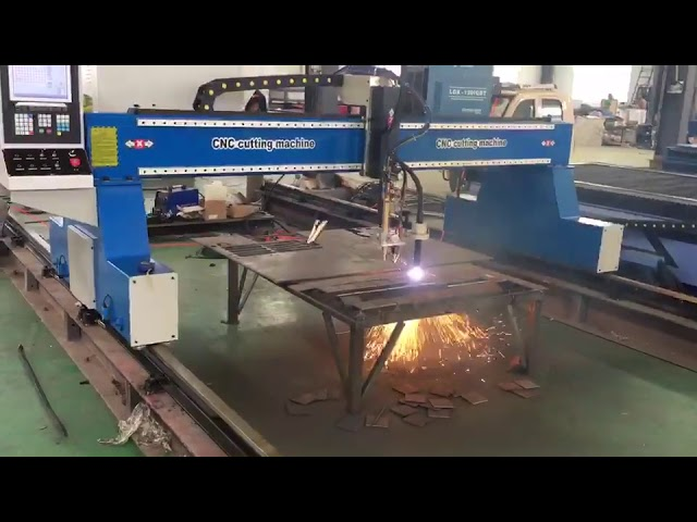 portable cnc gantry crane plasma flame cutting machine plasma cutter