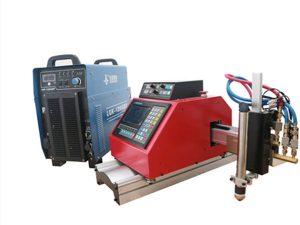 portatīva CNK plazmas, gāzes, liesmas, skābekļa lokšņu metāla griešanas mašīna ar THC