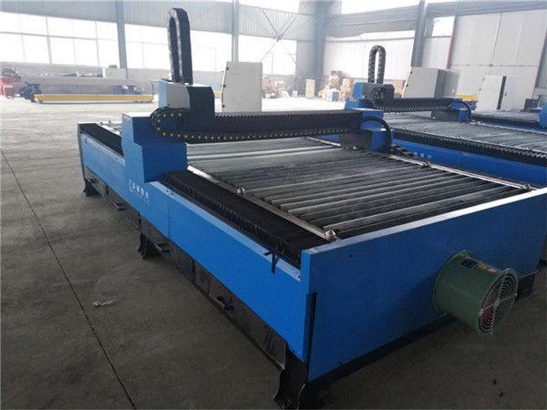professionele fabriek directe verkoop aluminium geanodiseerd aluminium G-code cnc plasma snijmachine
