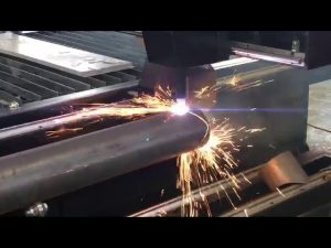 sale cnc plasma cutting machine with rotary, plasma cutter for metal pipe