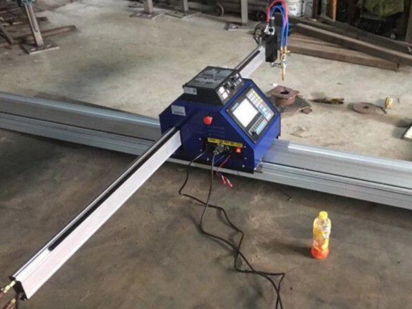 small cnc plate plasma cutting machine 1530 Portable CNC Metal PlasmaFlame sheet metal Cutting Machine Cutter for Sale