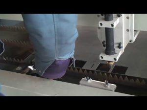 þykk 22 25cm 200A CNC plasma klippa vél fyrir málm