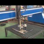 široce používaný portálový režim cnc ocelová deska plamen plazmové řezací stroj